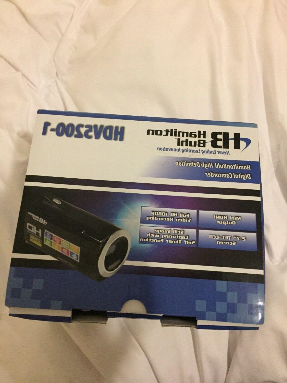 new hdv52001 high definition camcorder hdmi 2