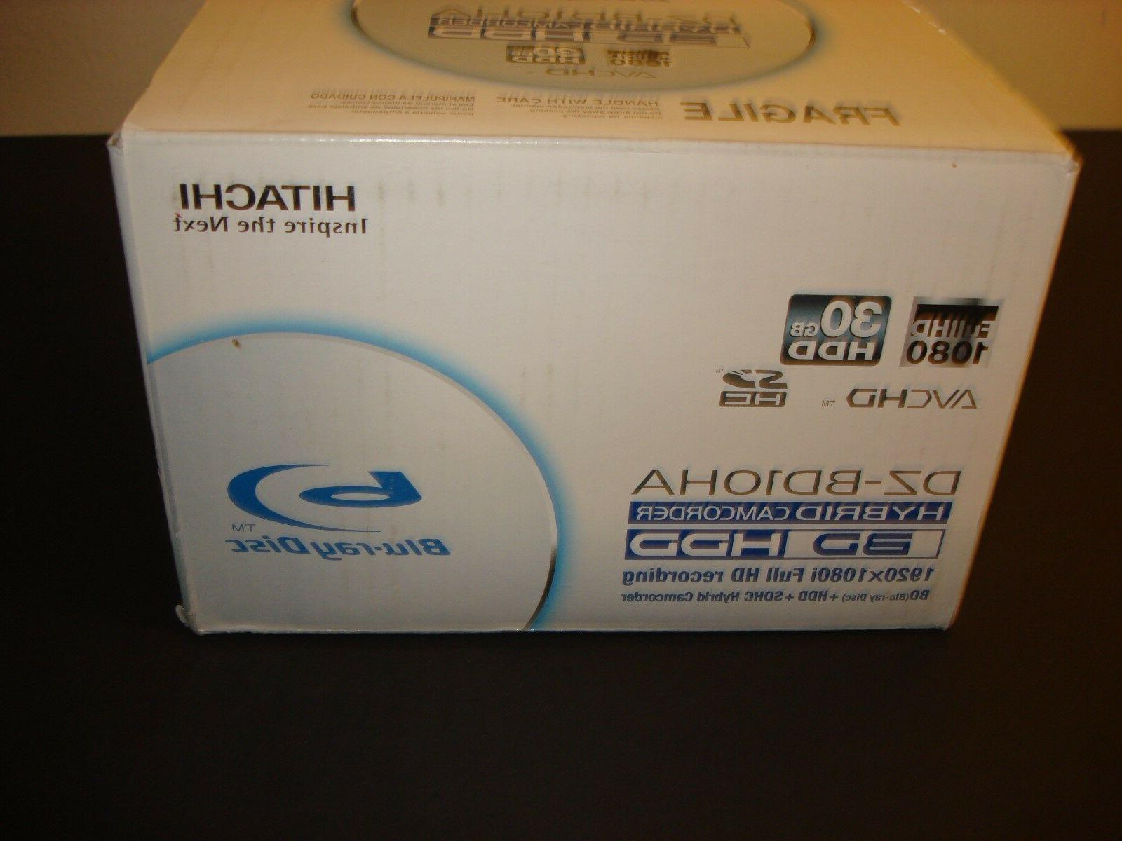 new DZ-BD10HA BLU-RAY camcorder hdd full hd 1080