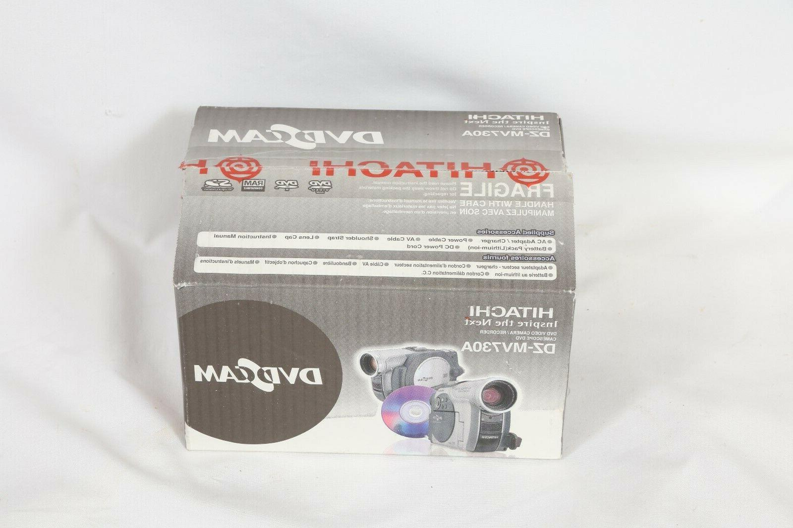 new sealed dz mv730a dvd camcorder video