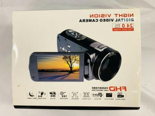 new video camcorder night vision digital video