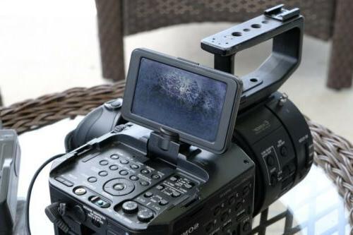 Sony NEX-FS700U Super NEX-FS700U w/Side Grip