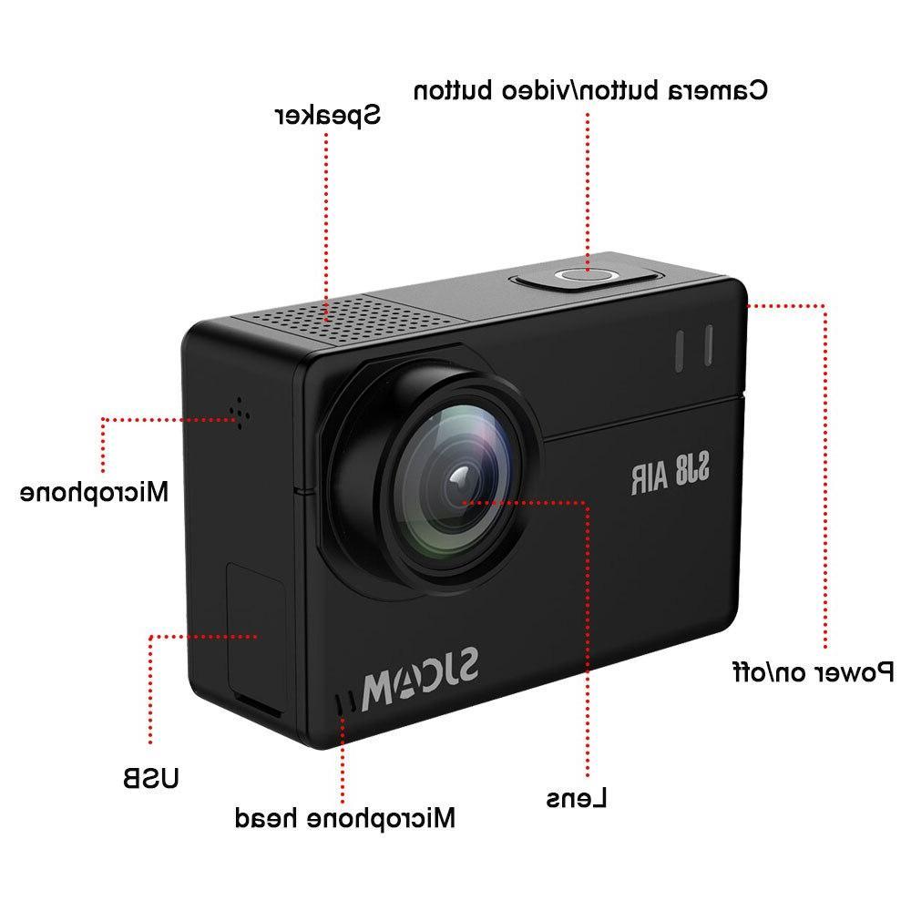 Plus/SJ8 Action <font><b>4K</b></font> HD Waterproof Cam