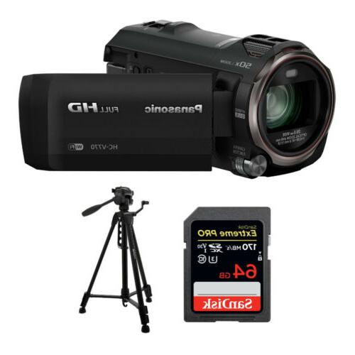panasonic hc v770 camcorder w
