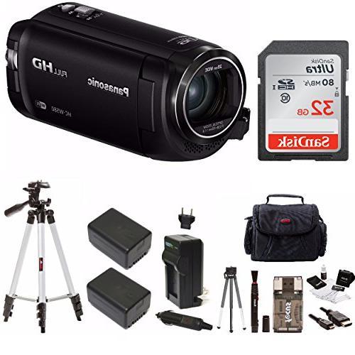 Panasonic HC-W580K Full HD Camcorder, Wi-Fi, Multi Scene Twi