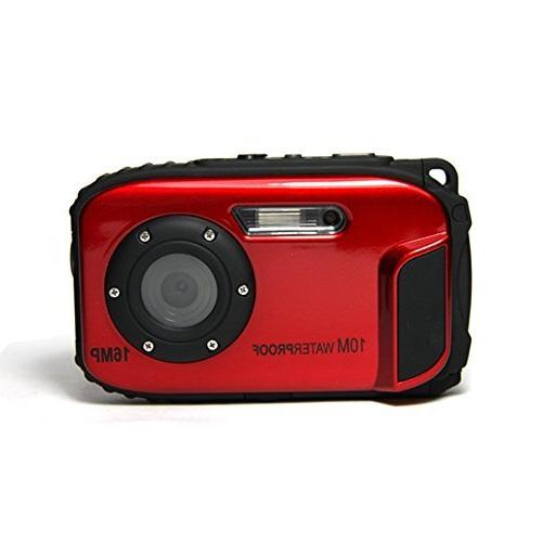 PowerLead PLDH13 LCD 16 Digital Camera Waterproof Camera+ 8x Zoom
