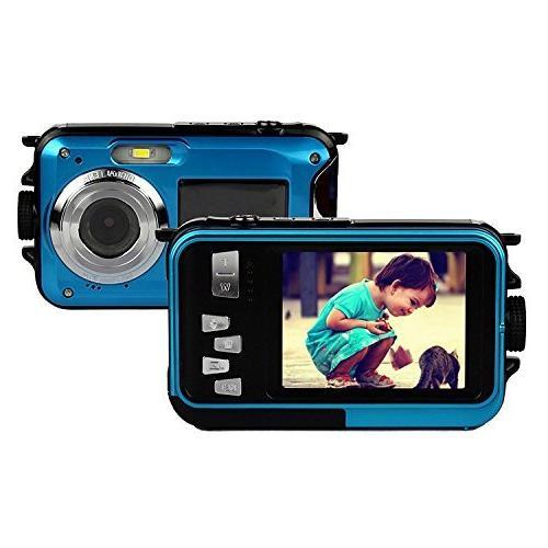PowerLead PLDH20 Double Screens Waterproof Camera Front Shot Camera