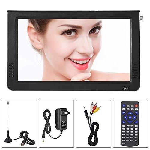 Television, Fosa Small 16:9 ATSC 1080P Video Player TFT TV Support USB and TF Card for Camping,