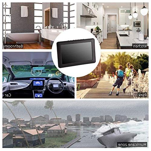 12 ATSC 1080P Video TV Battery Support USB Card Camping, Outdoor or