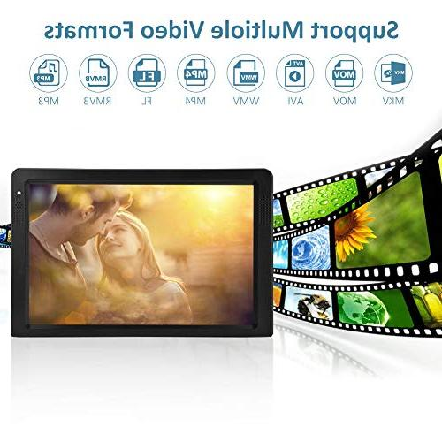 Television, Fosa Small 16:9 ATSC 1080P HDMI Video Player TFT LED TV Rechargeable Battery Support Camping, Outdoor