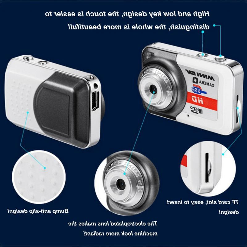 Portable Digital Camera HD Clear Video PC DV Shooting <font><b>Camcorder</b></font> With