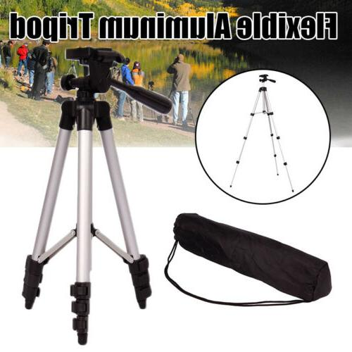 portable locking camera tripod stand cell phone