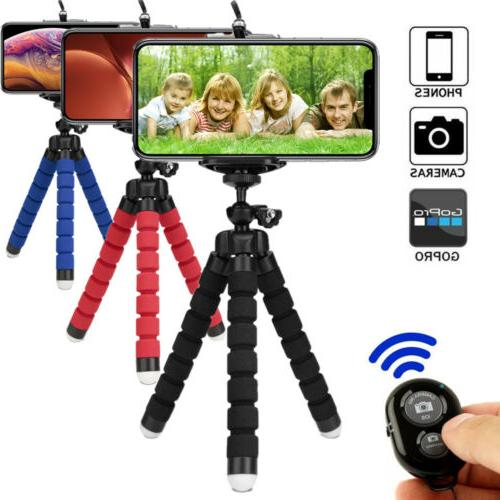 portable mini flexible foam tripod octopus stand