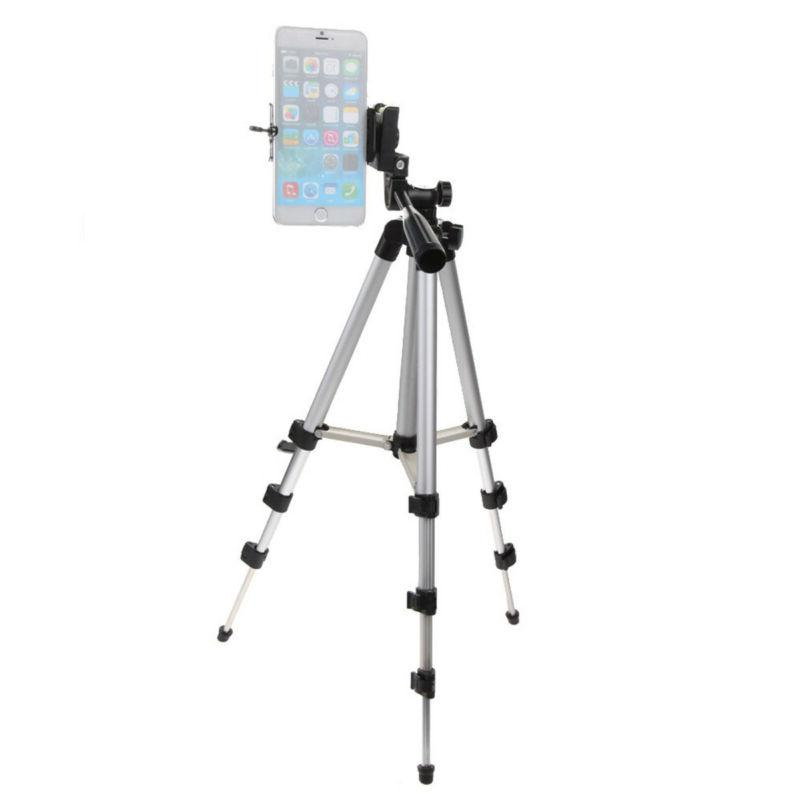 Portable Professional Adjustable Tripod Holder+Bag