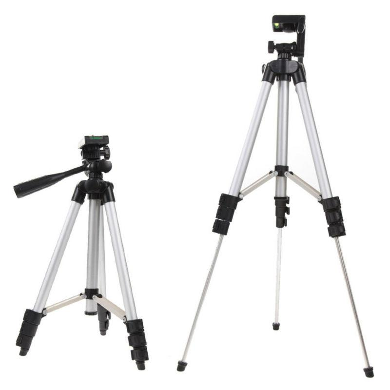 portable professional adjustable camera tripod stand cell