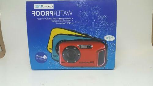 PowerLead BP88 5mp 9 Digital Camera-Blue