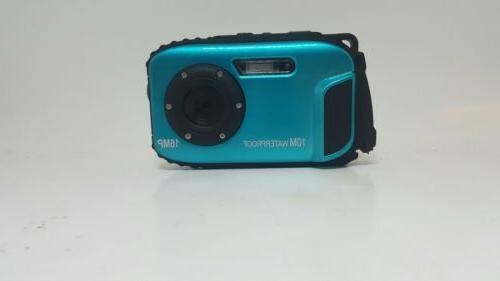 PowerLead 9 Mega 8x Digital Camera-Blue