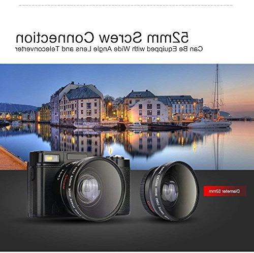 GordVE-powerlead 2.7inch Digital Camcorder 24MP Digital Camera