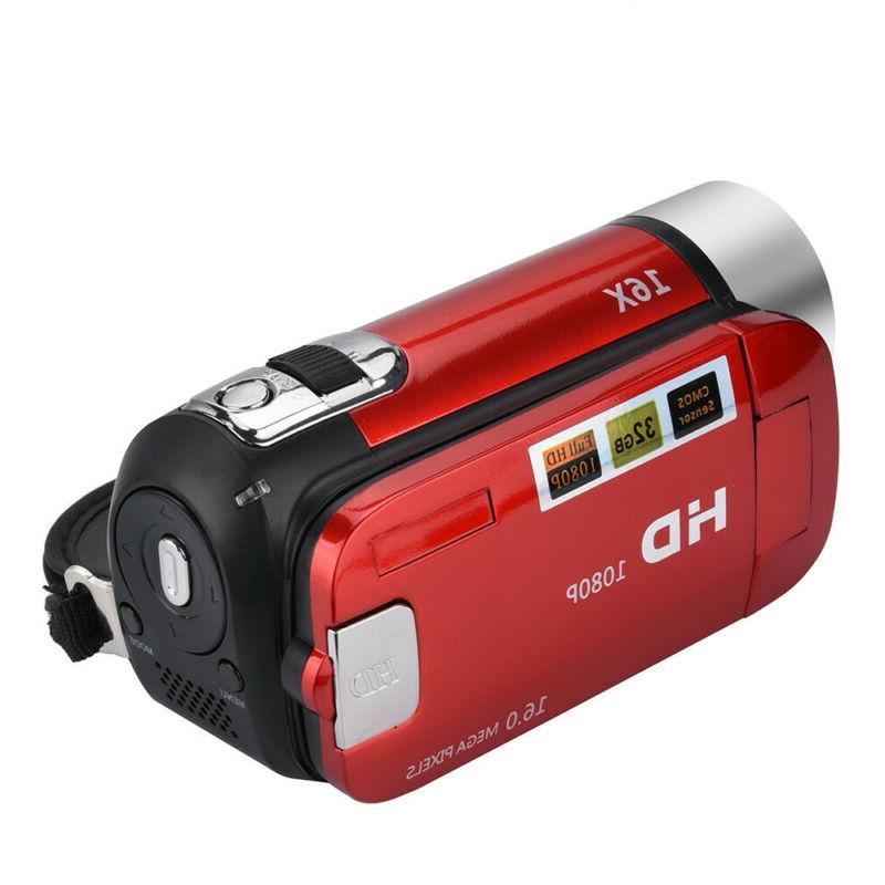"""Pro HD 1080P 2.7"""" 16MP Digital DV Zoom C"""