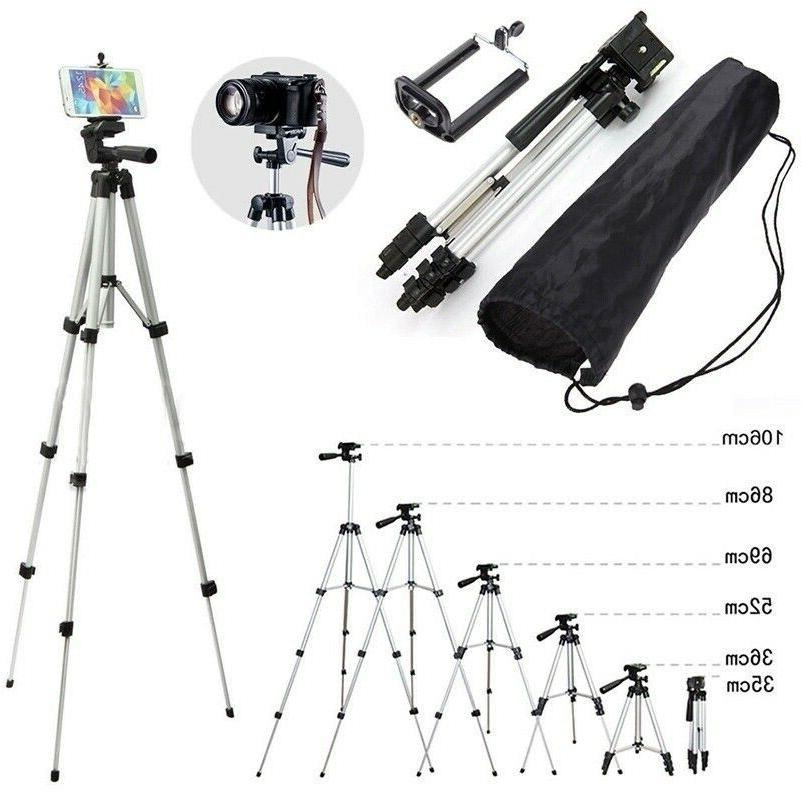 Pro Tripod Stand Digital Camera Camcorder Phone Mount Holder