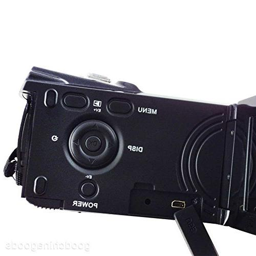 PowerLead Puto LCD 1080P Full DV Camcorder Degree