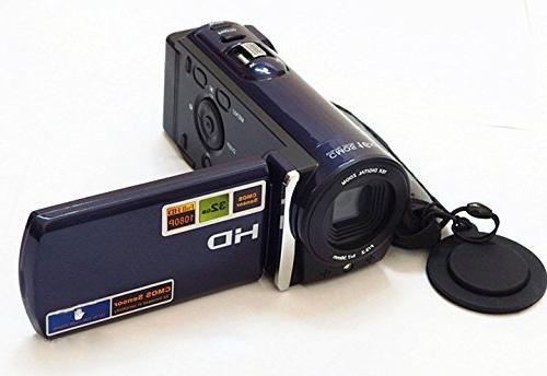 """PowerLead Puto Digital Camcorder Video with 3.0"""" Display Digital"""