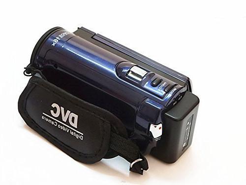 PowerLead PLD002 16MP Digital Video Recorder with Display 16x Digital Zoom