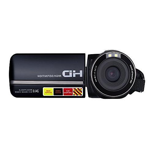 PowerLead Puto LCD Screen Camcorder Vision 24MP Camera