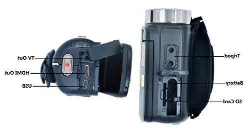 PowerLead LCD Digital Camcorder Night Camera HD Digital