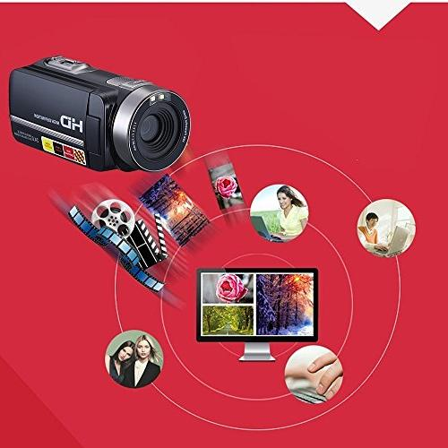 LCD Screen Digital Video Camcorder Night Camera HD