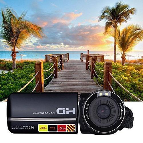 PowerLead Puto PLD078 LCD Screen Camcorder Night Camera HD Camera