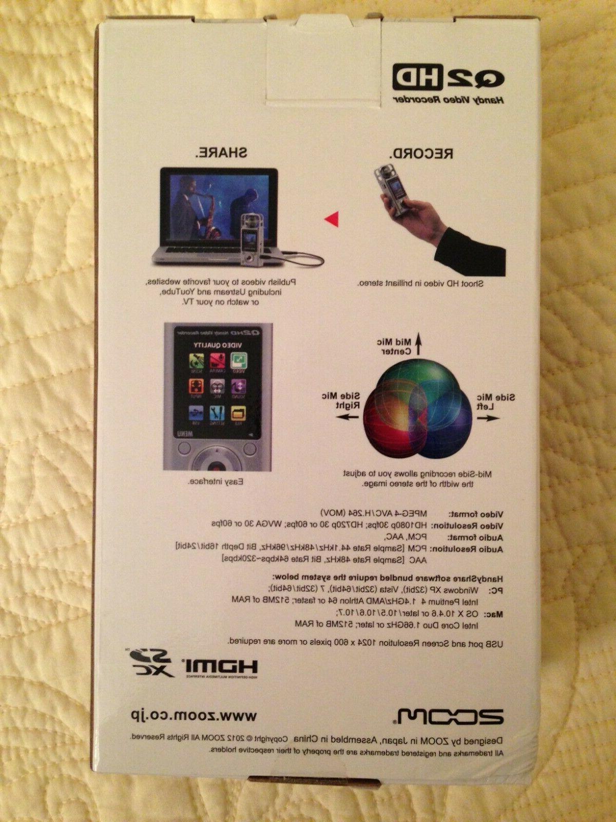 ZOOM video/audio recorder,