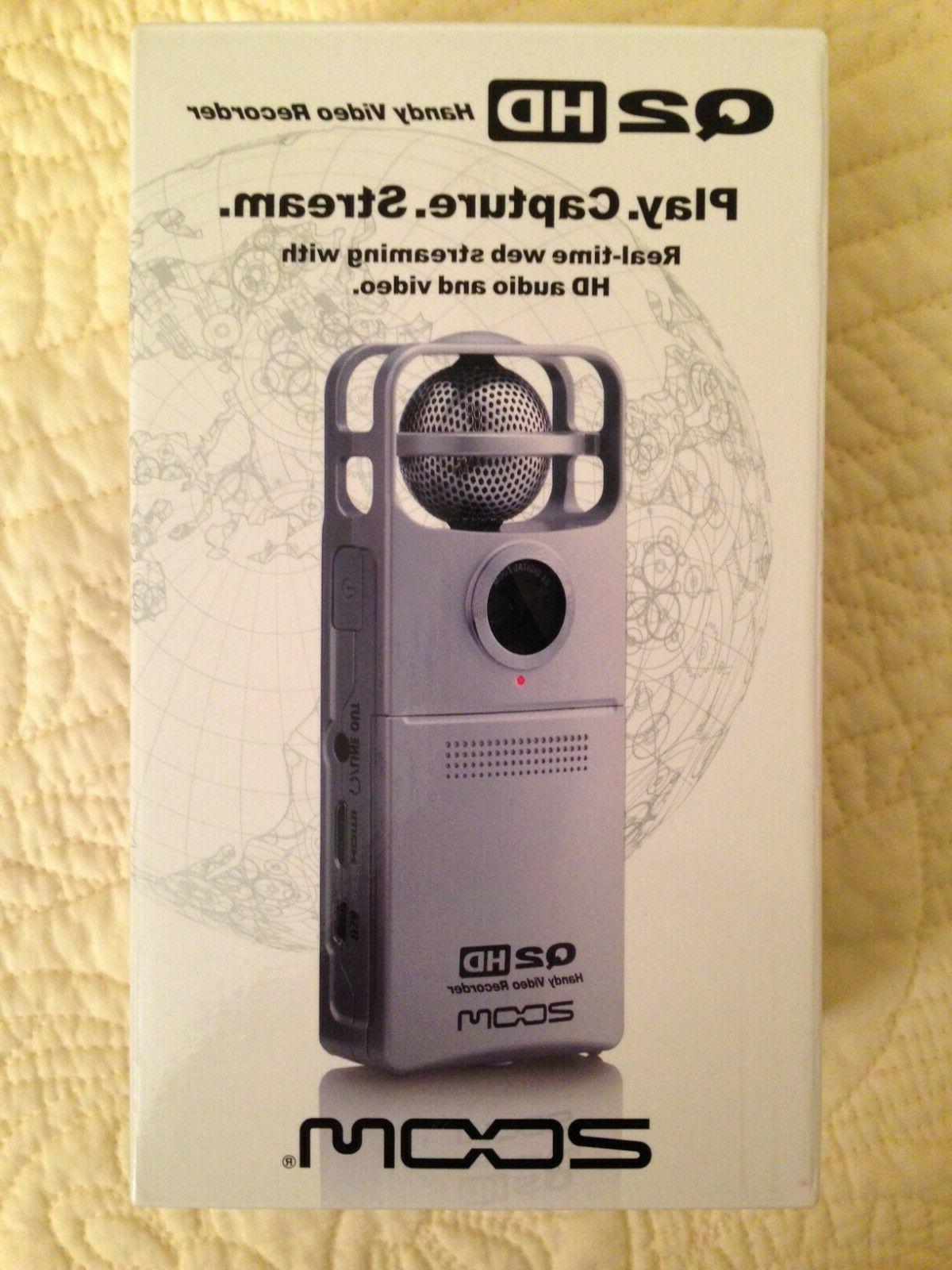 q2hd handy video audio recorder silver