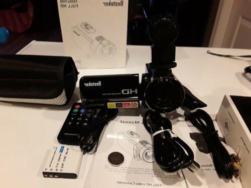 recorder camera hdv night vision 1920x1080 full