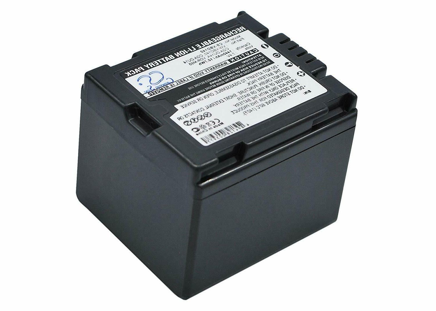 replacement battery for panasonic vw vbd140 cga