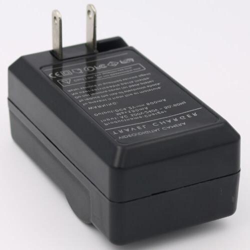 Battery Charger HITACHI DZ-MV350A DZ-MV380A DZ-MV550A Camcorder