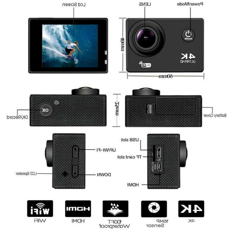 SJ9000 Wifi 4K Ultra Action Camera