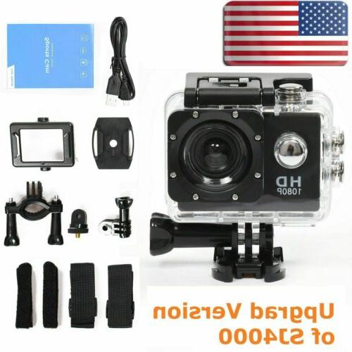 SJ5000 4K 1080P Ultra HD Waterproof 30M Action Camera Sports