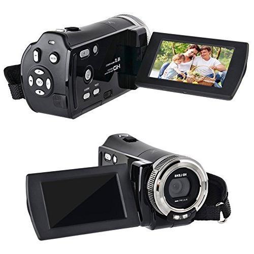 GordVE SJB05 DV C8 16MP Digital Video Camcorder Zoom Hd Camera Digital