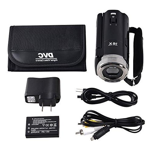 GordVE Mini C8 16MP Definition Digital DVR 2.7'' Zoom Hd Video Recorder Camera 1280 x Digital Camcorder
