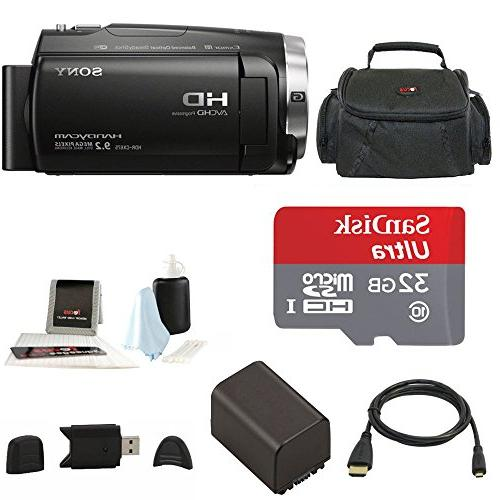 sony hdr cx675 handycam camcorder