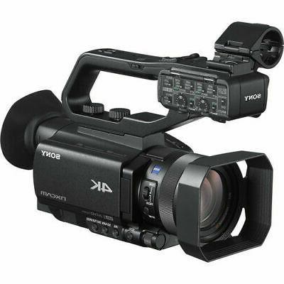 sony hxrnx80 compact 10 type nxcam camcorder black