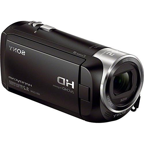 Sony HDRCX405 Video Recording Handycam Camcorder with Memory Card Mini Travel Battery Charger More