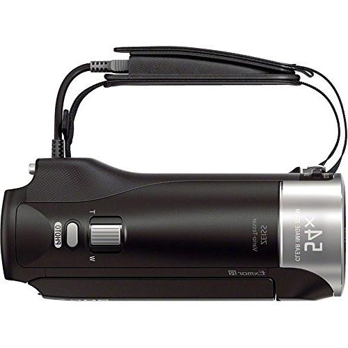 Sony HDRCX405 Recording Handycam with Memory Mini Tripod Travel Battery Charger HDMI More