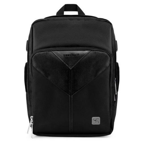 sparta onyx black professionals backpack