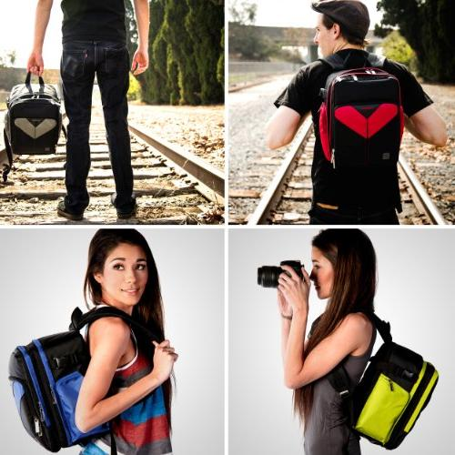 VanGoddy Sparta Camera Backpack Professional Cinema EOS Cameras