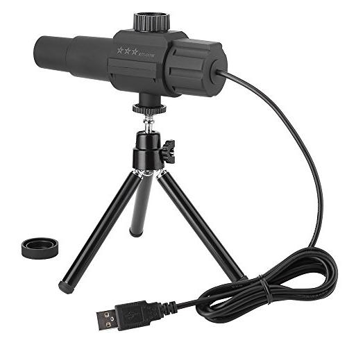 Fosa Telescope, USB Monoculars 70X Zooming Smart Detection with Tripod for Watching Camping Travelling
