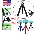 Tripod Stand Mount Flexible Mini Octopus Wraps For Go-pro Ca