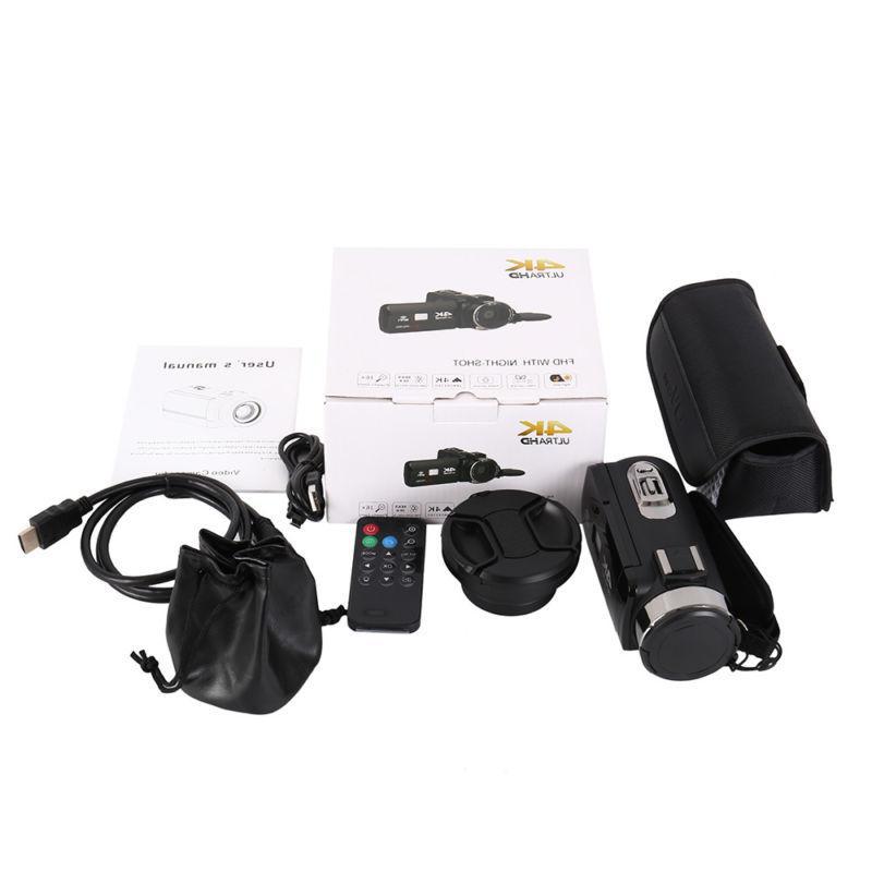 ULTRA 4K HD WiFi Camera Recorder
