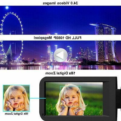 """Ultra 1080P 24MP 3.0"""" 16X Digital DV"""