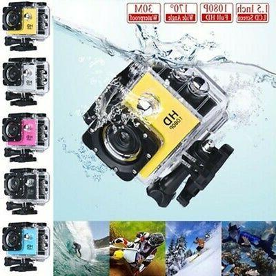Action Camera 4K 1080P WiFi Camcorder Waterproof DV Sports C